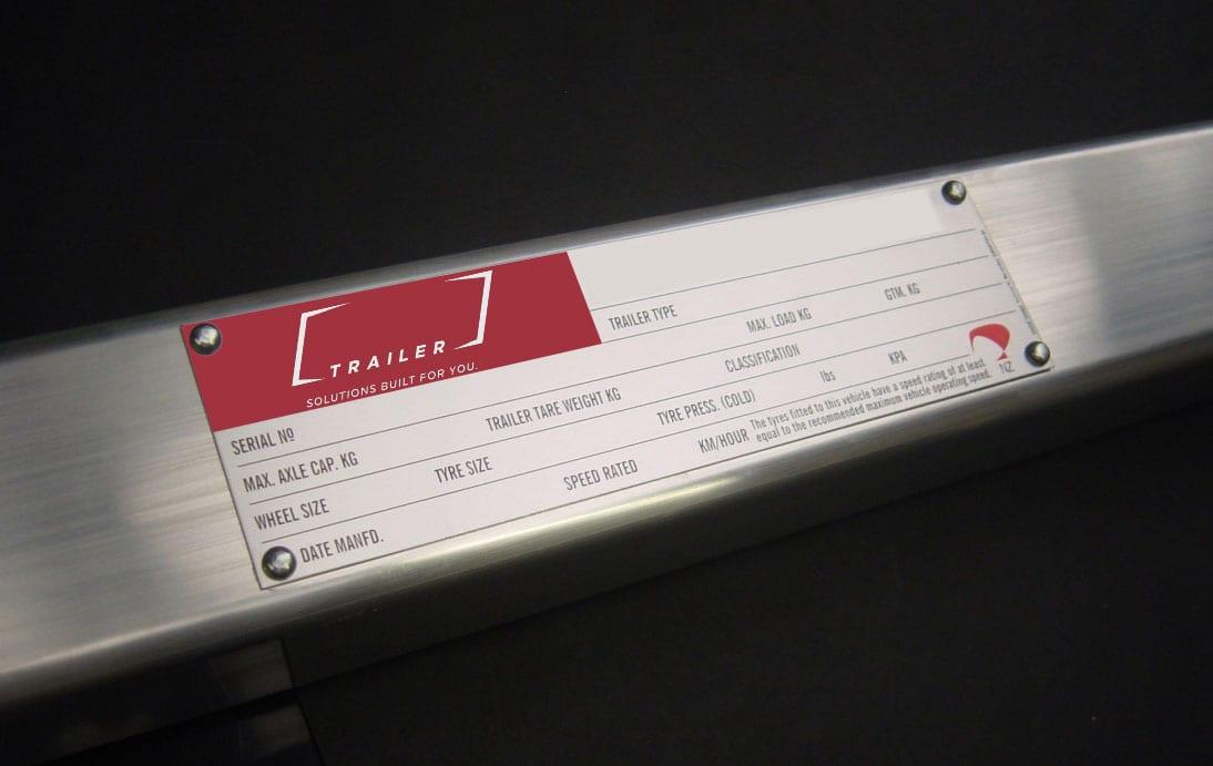 bar codes printed on metal