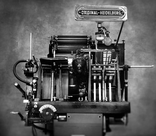 Heidelberg PRess - Equipment