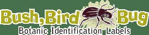 Bush, Bird, Bug - Botanic Identification labels