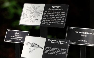 Botanic Labels