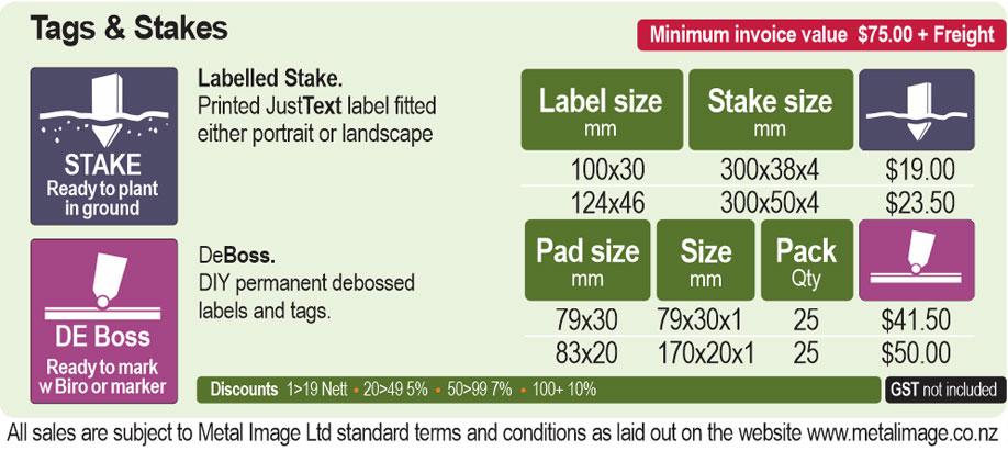 MetalImage BotanicsPricing 2020 C 02 - Botanic Labels
